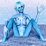 Snow Goblin by FollyFool