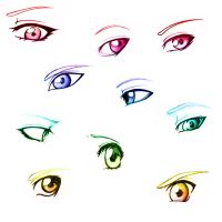 More eyes by SammYJD