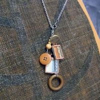Measure Soldered Charm Necklace by colormecrazi