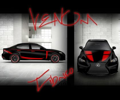 Venom Lexus IS 14 Design by Tibneo
