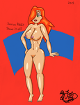 Jessica Rabbit Shows It Off by TheNaughtyGoblin