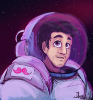 Space Markiplier by Donomon