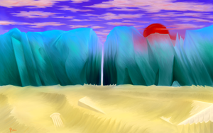 The Sundering Sands by TwinSabreInferno