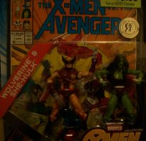 Wolverine and She Hulk Comic Pack by lovefistfury