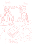 Sketchy Roomclutter by tera-rina