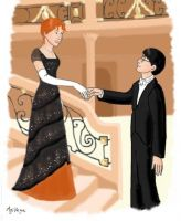 Harry Potter meets Titanic by AgiVega
