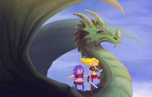 Dragon Rider by Che-Crawford