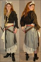 Jodi Pirate Costume Front+Back by FantasyStock