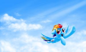 Flying Forward (Wallpaper Version) by verulence