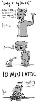 Baby Kitty (Part 1) by Open-Circle