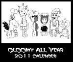 Gloomy and Friends All Year by Beardmaster