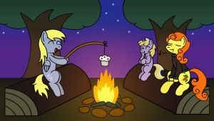 Camping trip with the Doos by GoggleSparks