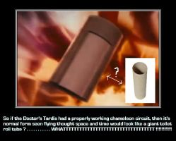 Doctor Who - The Tardis is a toilet roll tube ???? by DoctorWhoOne