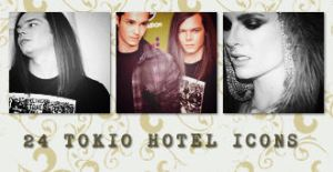 Icons: Tokio Hotel set8 by Mariesen