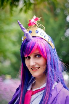 Twilight Sparkle - lets smile by KittenClaw