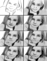 Face Study WIP by Matou31