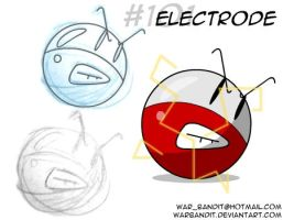 Electrode sketch by WarBandit
