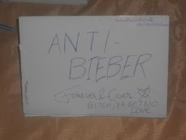 Anti Bieber Forever And Ever by therealkevinlevin