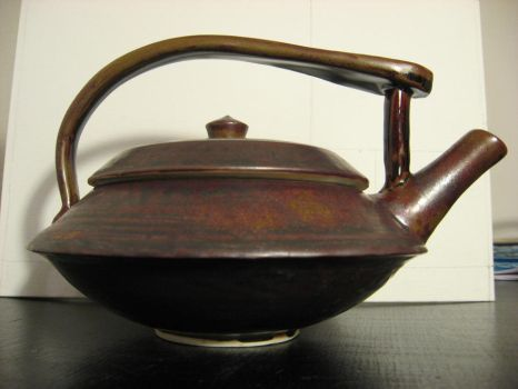 My First Teapot (side view) by sirenoftherhine1