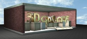3D Garage Logo Test by SilvioGiacomini