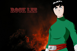 Rock Lee Wallpaper by Hand-Banana