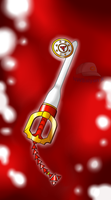Keyblade Forge: Crimson Gallant Keyblade by NWSaiyanX