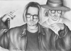 Secret Window Johnny Depp by KatrinTkachuk