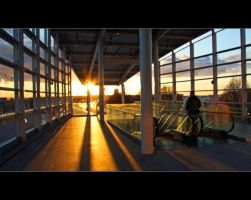 Evening Metro by Val-Faustino