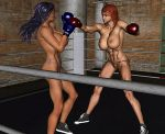 Raaye vs Suzee 2nd Punch by veryoldoldold