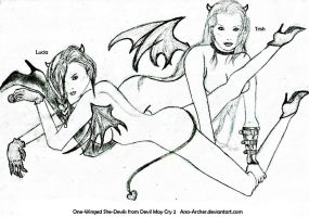 20100904  One-Winged She-Devils DMC2 by Ana-Archer