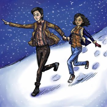 Dashing Through the Snow by Afraid-YoureNext