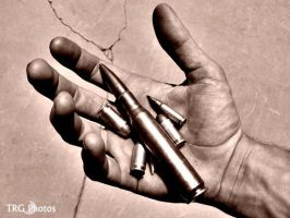 Hands, Bullets by angelsfalldown1