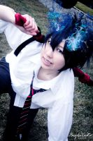 Ao no Exorcist - Rin 1 by HoneydewLoveCosplay