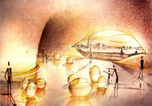 sketch for archi project by irinax