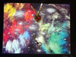 Love is the key to the Universe by Neneplayswithpaper