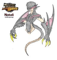 Natali the Nargacuga by Aonon