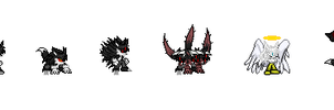Makai's Many Forms by Rudolphtheehcidna