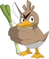 Farfetch'd by Porygon2z