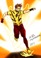 New Earth:Kid-Flash by kyomusha