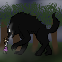 Monster Wolf Fluff by Taryndedoo