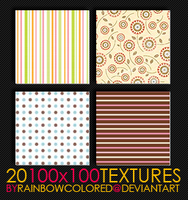 100x100 Textures 7 by rainbowcolored