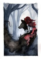 Little Red Riding Hood by GemmaGuerrero