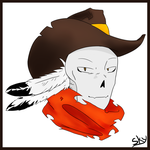 WesternTale Papyrus Icon by SkyDixie