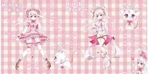 Mimiko RinRin Official Reference by Ipun