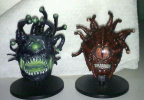 Bane and Infernal Beholders by XantheStar