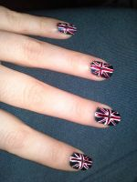 3. Jubilee Union Jack Nails by megs2606