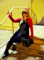 Stephanie Brown/Damian Wayne Mash-up cosplay by Evea