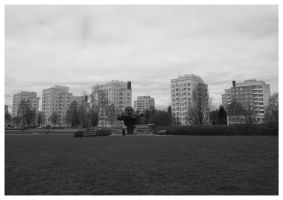 The Sky, the City and the Park by Berlioz-II