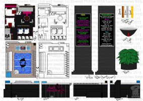 Luci's Luxxxuries Strip Club Layout by KatWithKnives