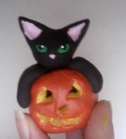 Halloween Kitty! by enyce122